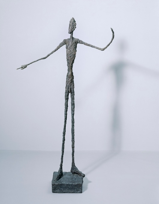 Man Pointing (1947) by Alberto Giacometti © Alberto Giacometti Estate, ACS/DACS, 2017