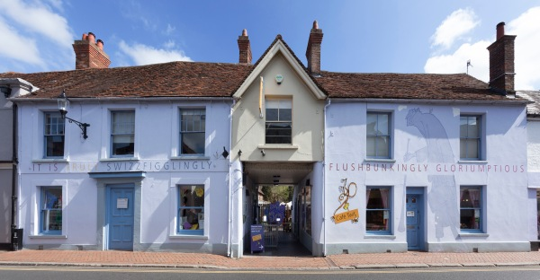 Front of the Roald Dahl Museum (Photo courtesy The Roald Dahl Museum and Story Centre)