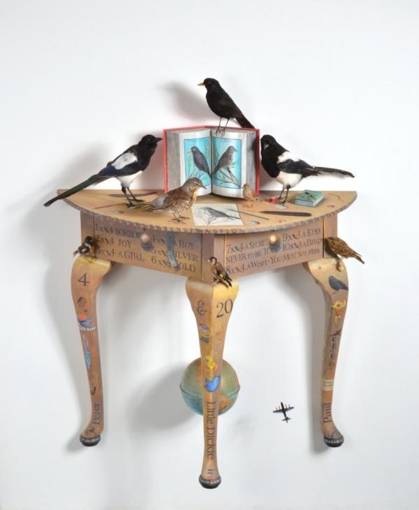 Bird Table by PJ Crook