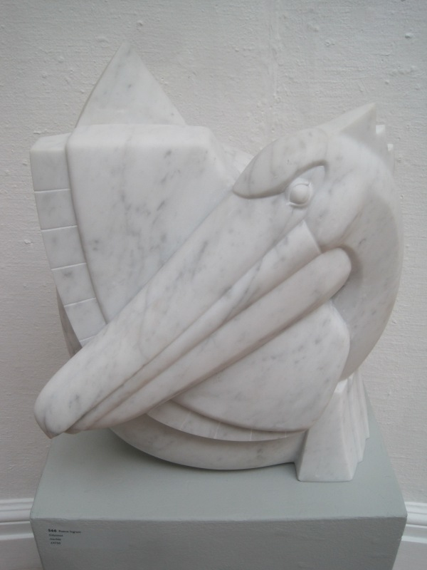 Odysseus by Reece Ingram. Marble (£4,750)