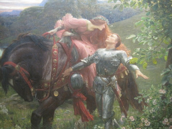 La Belle Dame Sans Merci (1901) by Frank Dicksee
