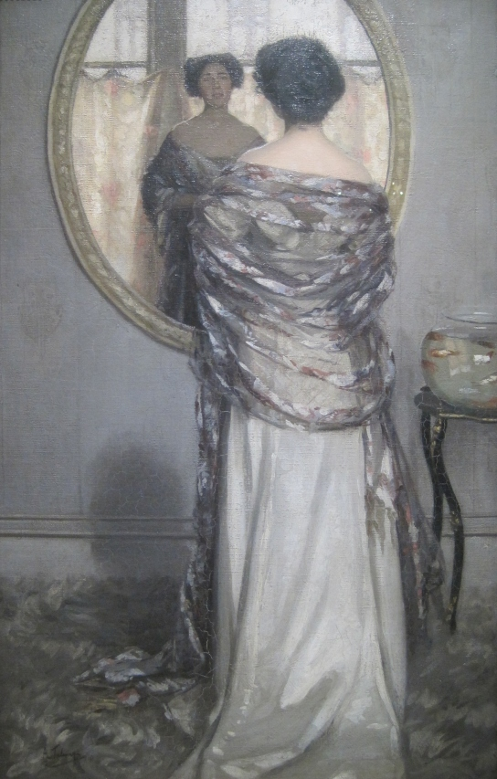 The Mackerel Shawl (1910) by Algernon Talmage