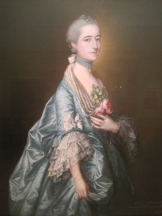 Ann Leyborne Leyborne (1763) by Thomas Gainsborough