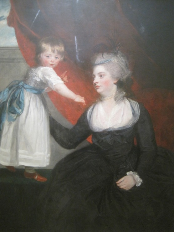 Frances Courtenay, Lady Honeywood and her daughter (1784) by Sir Joshua Reynolds
