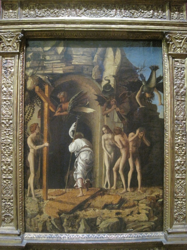 The Descent of Christ into Limbo by Giovanni Bellini (1475-80)