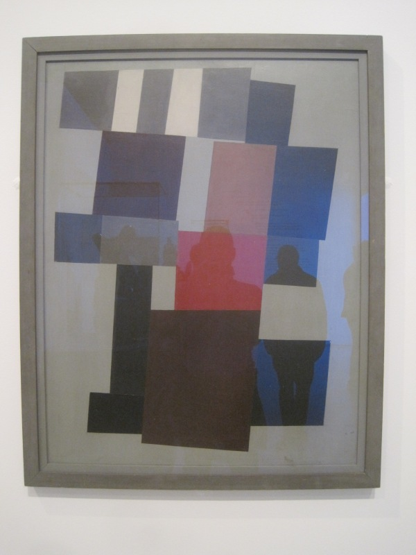 Static composition (1915) by Jean Arp