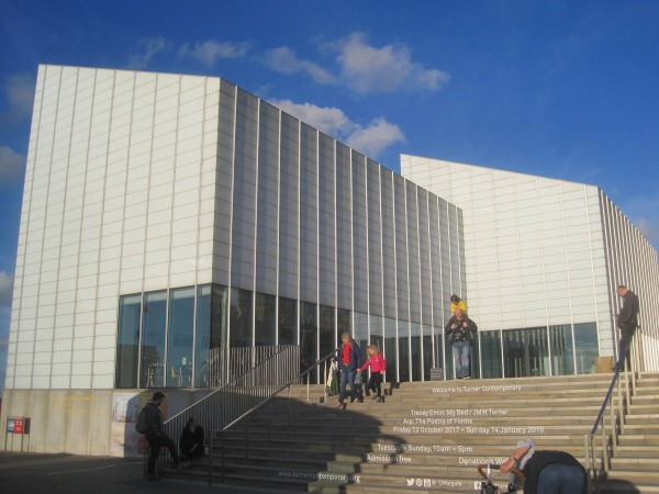 Exterior of Turner Contemporary, Margate
