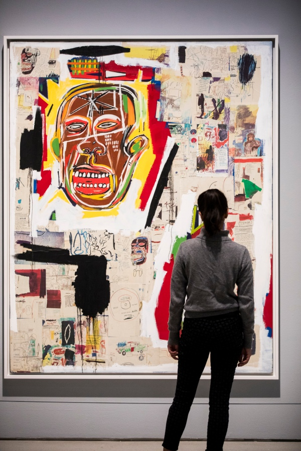 King of the Zulus (1984-85) by Jean-Michel Basquiat. Photo © Tristan Fewings/Getty Images. Artwork © The Estate of Jean-Michel Basquiat. Licensed by Artestar, New York