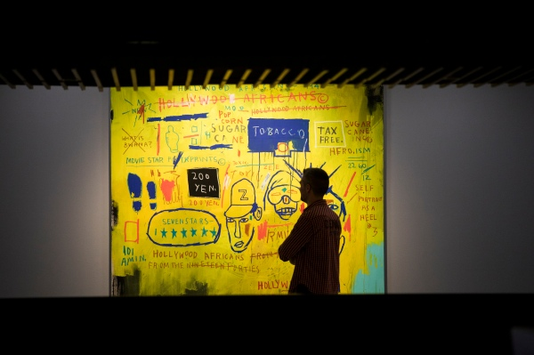 Hollywood Africans (1983) by Jean-Michel Basquiat. Photo © Tristan Fewings / Getty Images. Artwork © The Estate of Jean-Michel Basquiat/ Artists Rights Society (ARS), New York/ ADAGP, Paris. Licensed by Artestar, New York.