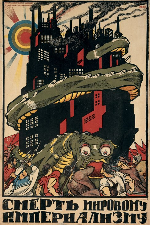 Death to World Imperialism (1920) by Dmitrii Moor (1883 1946) The David King Collection at Tate
