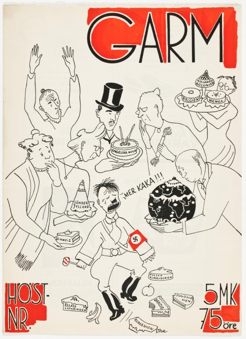 Cover illustration of Garm No. 10 (1938) Photo: Finnish National Gallery/Jenni Nurminen