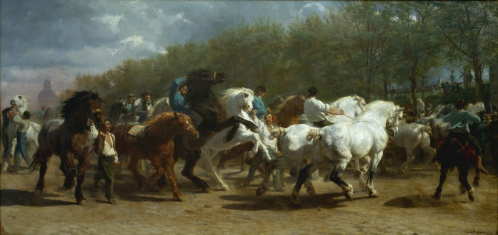 Horse Fair (1835) by Rosa Bonheur