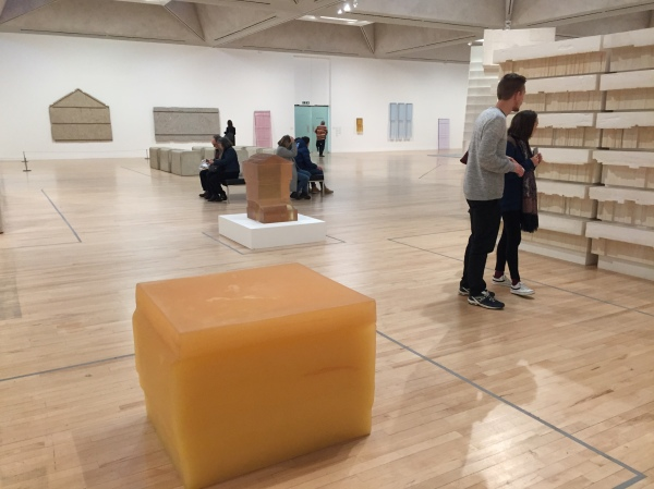 Installation view of Rachel Whiteread at Tate Britain