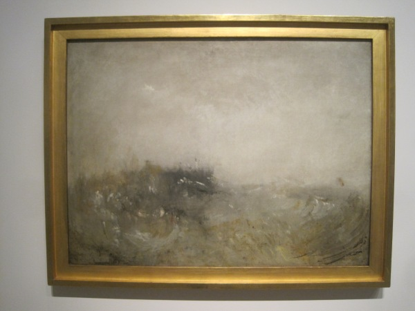Rough sea (1840-45) by J.M.W. Turner