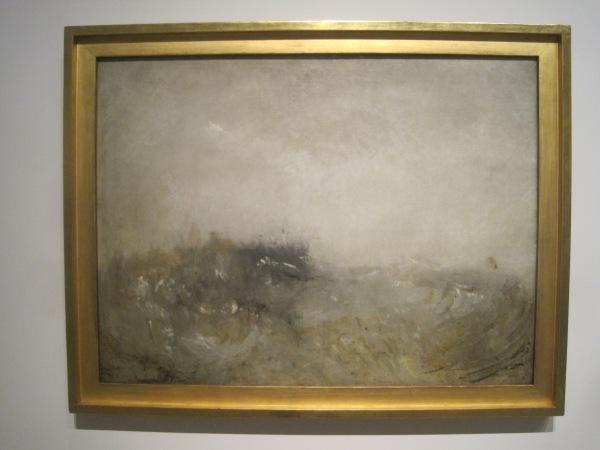 Rough sea (1840-45) by J.M.W. Turner