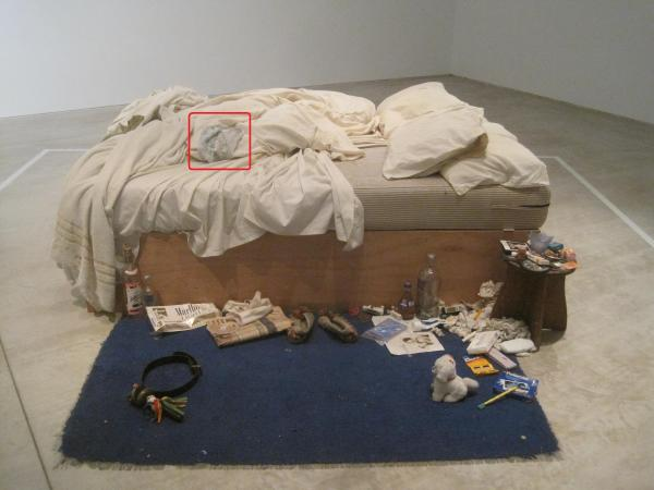 My bed (1998) by Tracey Emin
