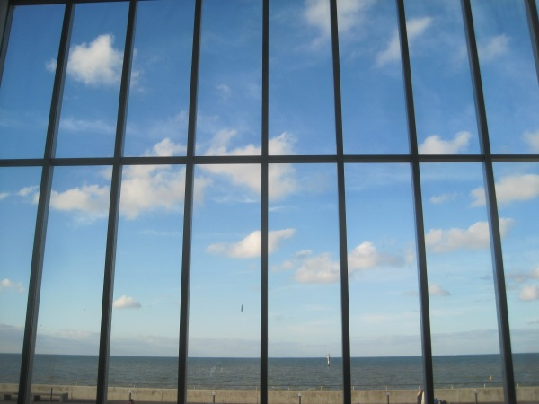 View from Turner Contemporary over the Thames Estuary