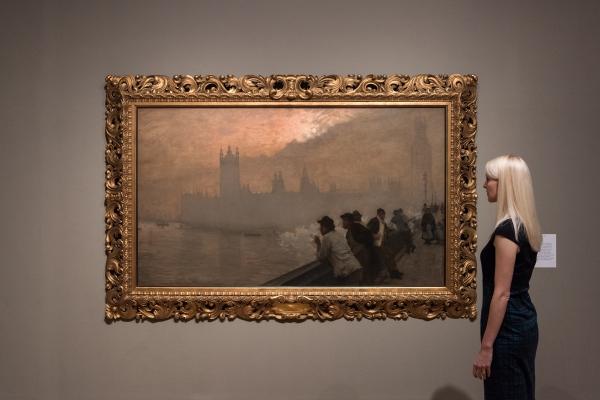 Westminster (1878) by Giuseppe De Nittis