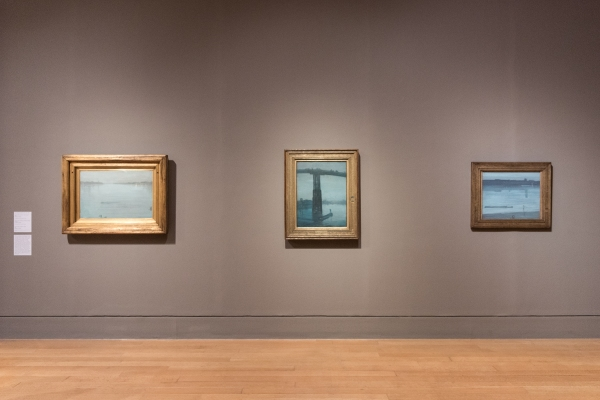 Three Thames views by the Fog Master, James Whistler