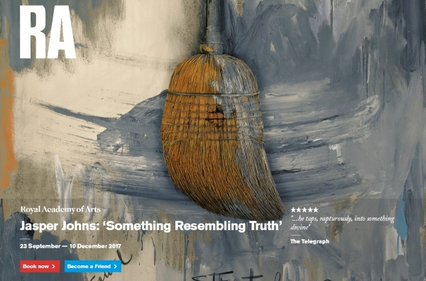 Royal Academy poster for Something resembling truth