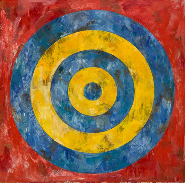 Target (1961) by Jasper Johns © Jasper Johns/VAGA, New York/DACS, London. Photo © 2017 The Art Institute of Chicago/Art Resource, NY/Scala, Florence