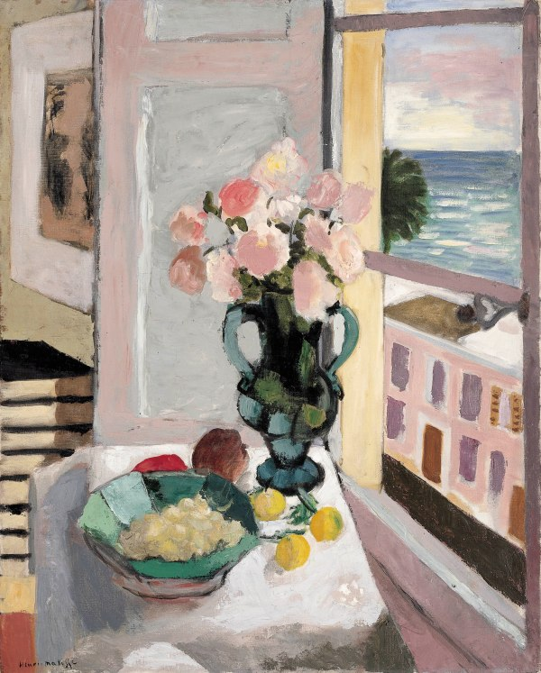 Safrano Roses at the Window (1925) by Henri Matisse © Succession H. Matisse/DACS 2017