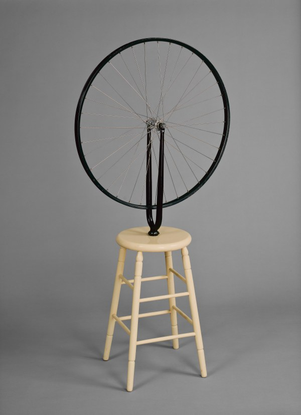 Bicycle Wheel (1913, 6th version 1964) by Marcel Duchamp. Photo © Ottawa, National Gallery of Canada/© Succession Marcel Duchamp/ADAGP, Paris and DACS, London 2017