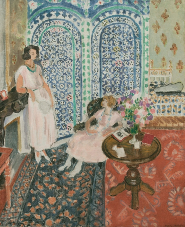 The Moorish Screen (1921) by Henri Matisse. Philadelphia Museum of Art. Bequest of Lisa Norris Elkins, 1950. Photo © Philadelphia Museum of Art/Art Resource, NY.