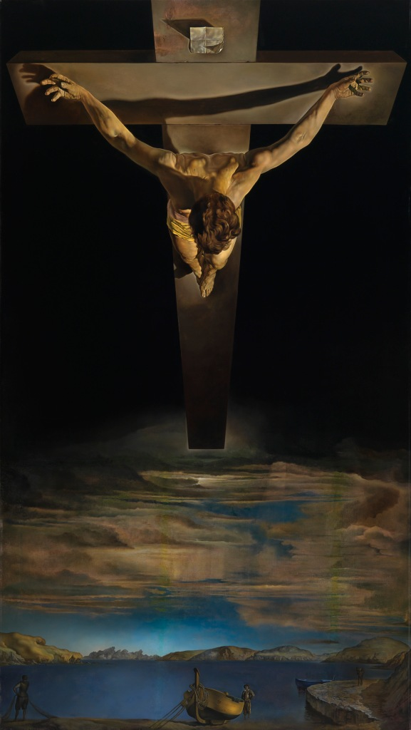 Christ of Saint John of the Cross (c. 1951) by Salvador Dali. Kelvingrove Art Gallery and Museum, Glasgow © CSG CIC Glasgow Museums Collection