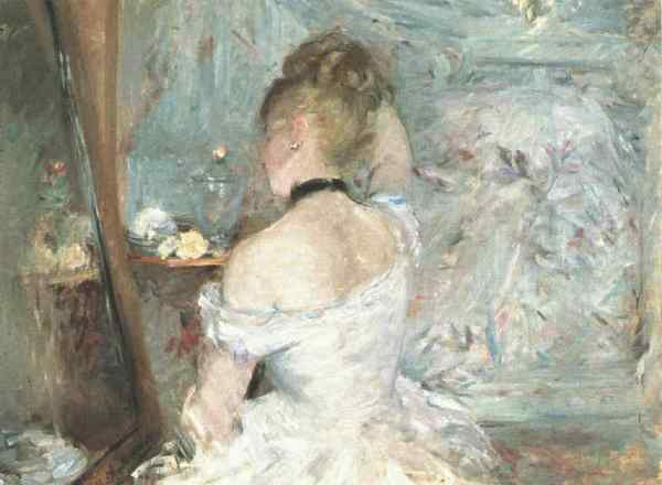 Lady at her Toilette (1875) by Berthe Morisot