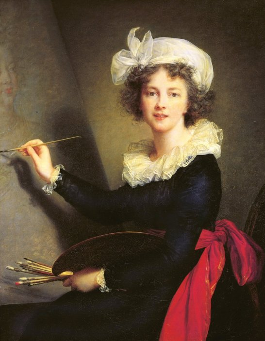 Self-Portrait (1790) by Elizabeth Louise Vigée Le Brun