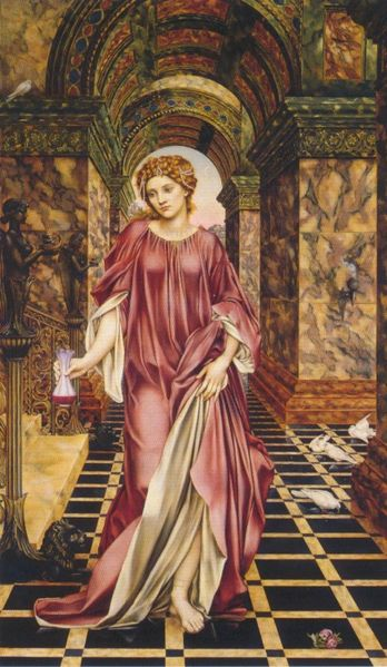 Medea (1889) by Evelyn Pickering De Morgan