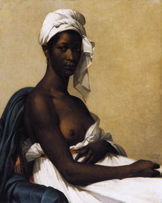 Portrait of a Negress (1800) by Marie-Guillemine Benoist