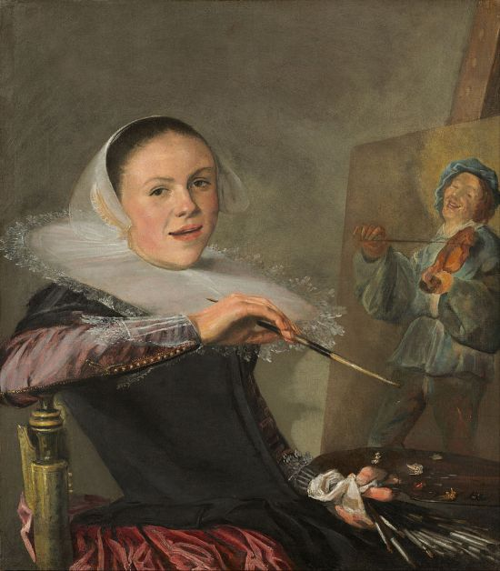 Self-Portrait by Judith Leyster (1633)