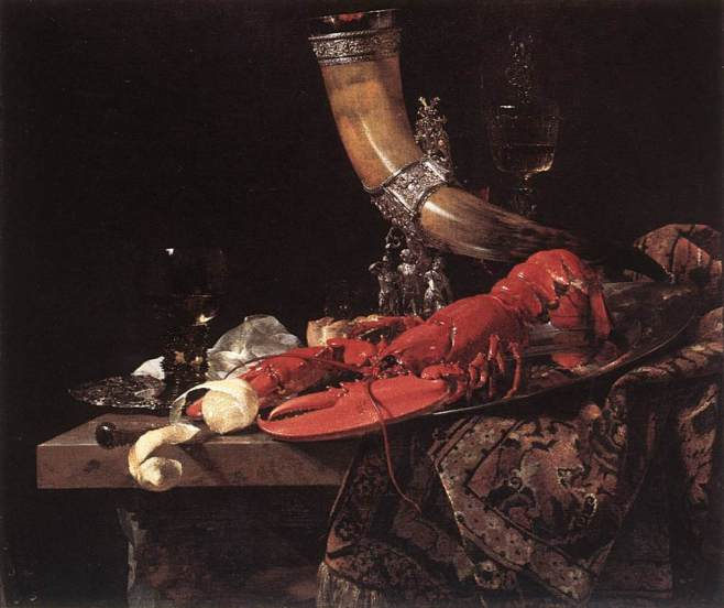 Still life (1653) by Anne Vallayer-Coster