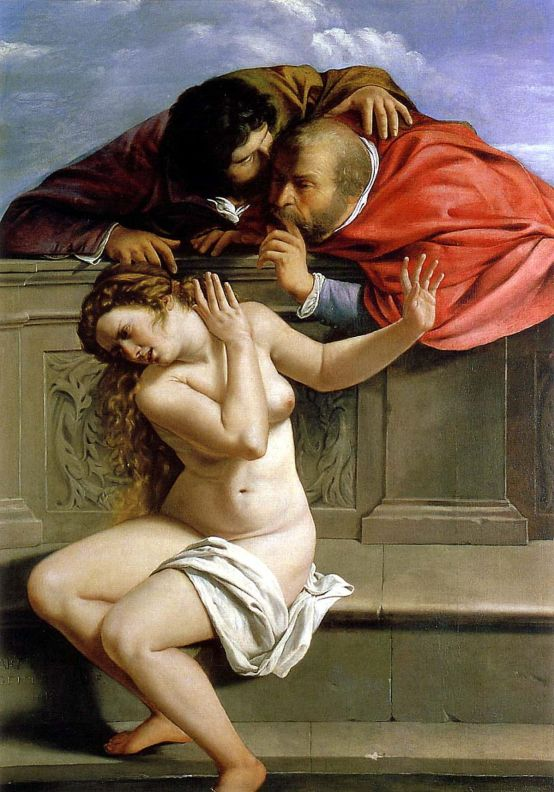 Susanna and the Elders (1610) by Artemisia Gentileschi