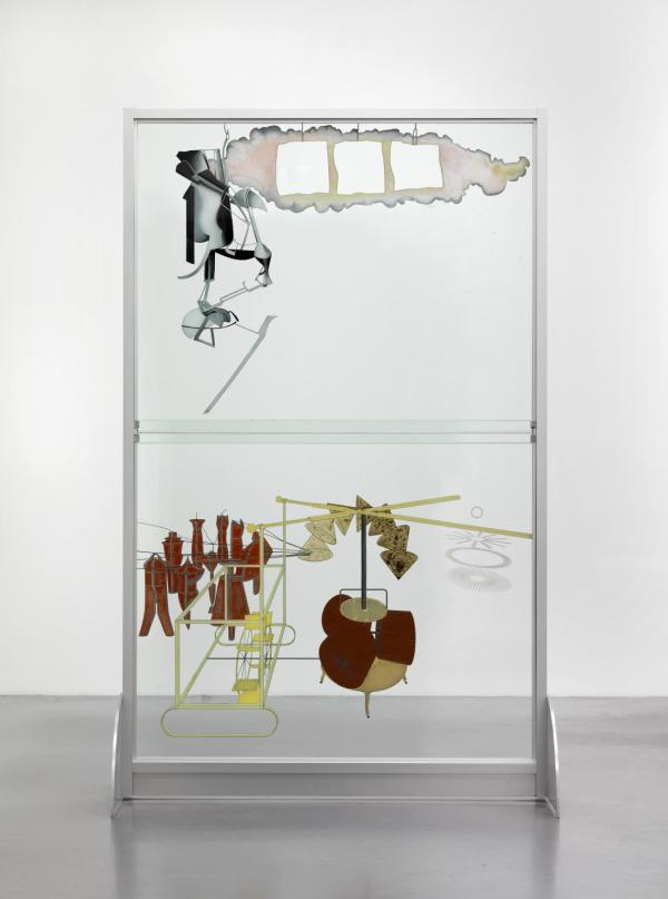 The Bride Stripped Bare by her Bachelors, Even (The Large Glass) (1915-23) by Marcel Duchamp as reconstructed by Richard Hamilton