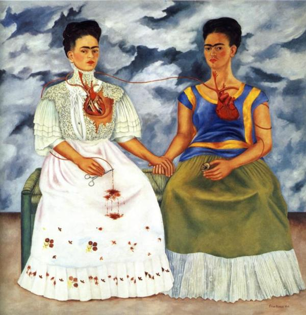 The Two Fridas (1939) by Frida Kahlo