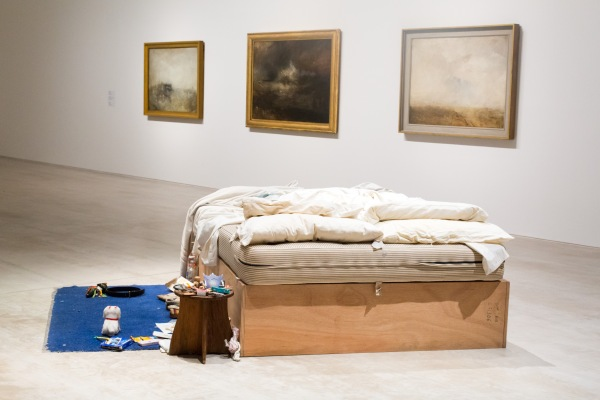 Tracey Emin My Bed/J.M.W. Turner at Turner Contemporary. Photography by Manu Palomeque