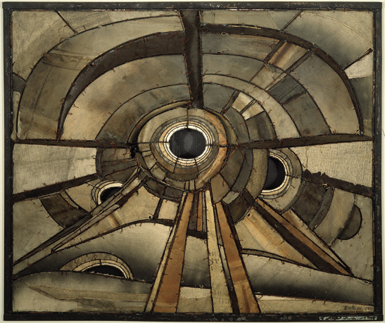 Untitled (1960) by Lee Bontecou