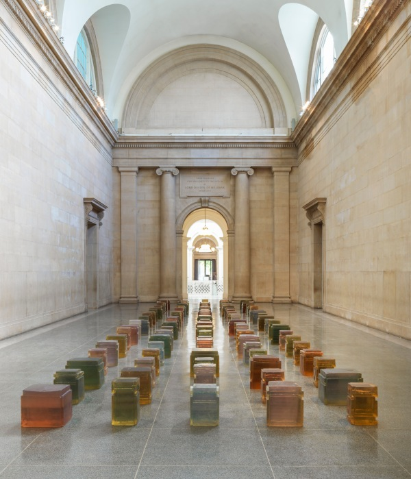 Untitled (One Hundred Spaces) (1995) by Rachel Whiteread © Rachel Whiteread. Photo: © Tate (Seraphina Neville and Andrew Dunkley)