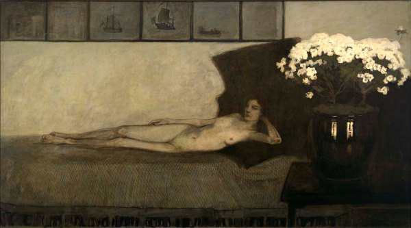White Azaleas (1910) by Romaine Brooks