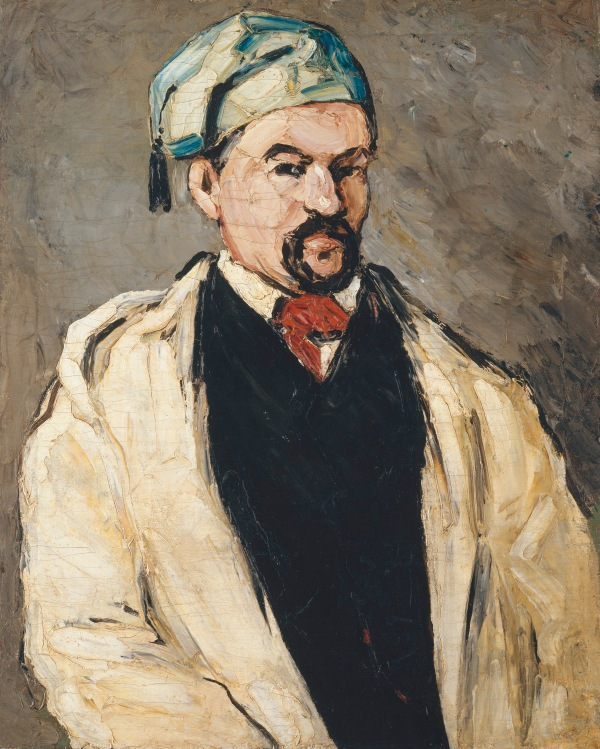 Uncle Dominique in Smock and Blue Cap (1866-7) by Paul Cézanne. Metropolitan Museum of Art