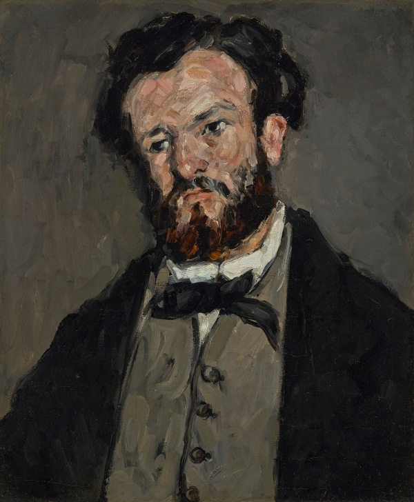 Portrait of Anthony Valabrègue by Paul Cézanne (1869 - 1871) J. Paul Getty Museum, Los Angeles. Digital image courtesy of the Getty's Open Content Program
