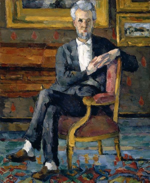 Victor Chocquet (1877) by Paul Cézanne. Columbus Museum of Art, Ohio