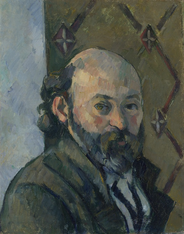 Self-Portrait by Paul Cézanne (1880-1) © The National Gallery, London