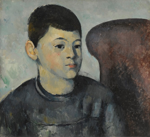 The Artist's Son (1881-2) by Paul Cézanne. Musée de l'Orangerie, Paris. Photo © RMN-Grand Palais (Musée de l'Orangerie)/Franck Raux