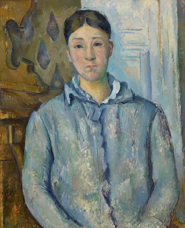 Madame Cézanne in Blue (1886-7) by Paul Cézanne, The Museum of Fine Arts, Houston