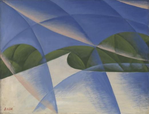 Abstract Speed: The Car has Passed (1913) by Giacomo Balla