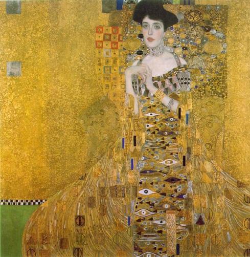 Adele Bloch-Bauer by Gustav Klimt (1907)